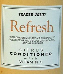 Trader Joe's Refresh Citrus Conditioner