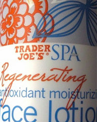 Trader Joe's Regenerating Antioxidant Moisturizing Face Lotion