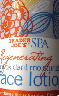 Trader Joe's Regenerating Antioxidant Moisturizing Face Lotion