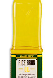 Trader Joe's Rice Bran Oil