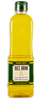 Trader Joe's Rice Bran Oil