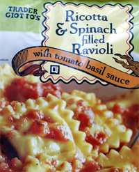 Trader Joe's Ricotta & Spinach Filled Ravioli Reviews