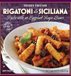 Trader Joe's Rigatoni alla Siciliana