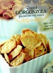 Trader Joe's Roasted Gorgonzola Flavored Crackers