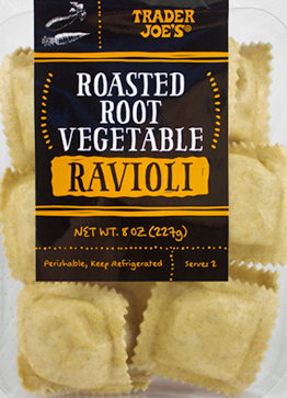 Trader Joe's Roasted Root Vegetable Ravioli