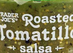 Trader Joe's Roasted Tomatillo Salsa