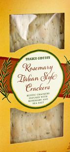 Trader Joe's Rosemary Italian Style Crackers