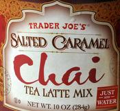 Trader Joe's Salted Caramel Chai Tea Latte Mix