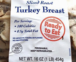 Trader Joe's Simply Sliced Roasted Turkey Breast