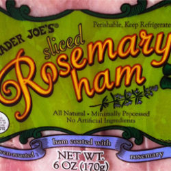 Trader Joe's Sliced Rosemary Ham