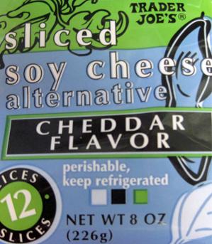 Trader Joe's Sliced Soy Cheese