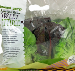 Trader Joe's Smallish Gems Sweet Lettuce
