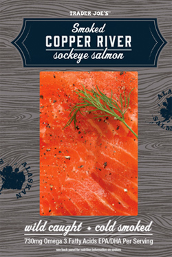 Trader Joe's Smoked Copper River Sockeye Salmon