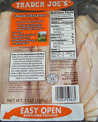 Trader Joe's Smoked Sliced Turkey Breast