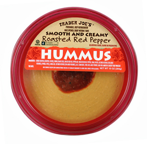 Trader Joe's Roasted Red Pepper Hummus