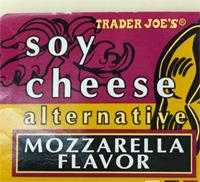 Trader Joe's Soy Cheese Mozzarella Flavor