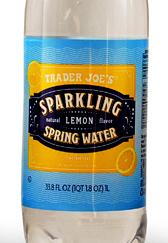 Trader Joe's Sparkling Lemon Spring Water
