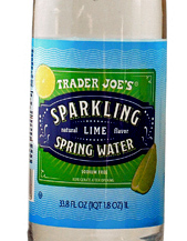 Trader Joe's Sparkling Lime Spring Water