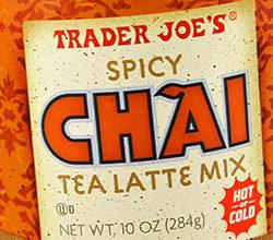 Trader Joe's Spicy Chai Tea Latte Mix