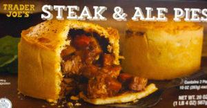 Trader Joe's Steak & Ale Pies