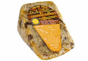 Trader Joe's Sticky Toffee Cheddar Cheese