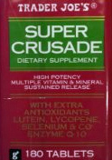 Trader Joe's Super Crusade Dietary Supplement