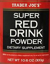 Trader Joe's Super Red Drink Powder