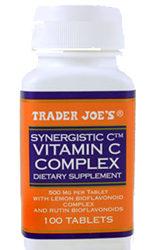 Trader Joe's Synergistic C Vitamin C Supplement