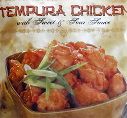 Trader Joe's Tempura Chicken with Sweet & Sour Sauce