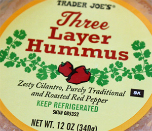 Trader Joe's Three Layer Hummus