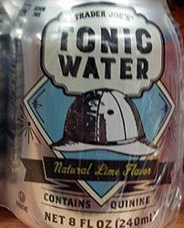 Trader Joe's Lime Tonic Water