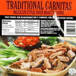 Trader Joe's Traditional Carnitas