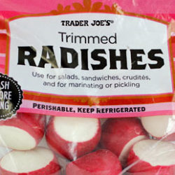 Trader Joe's Trimmed Radishes