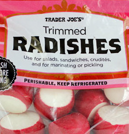 Trader Joe's Trimmed Radishes