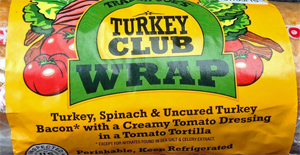 Trader Joe's Turkey Club Wrap