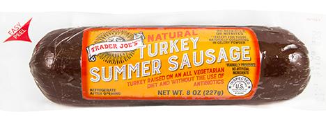 Trader Joe's Turkey Summer Sausage
