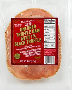 Trader Joe's Sliced Truffle Ham