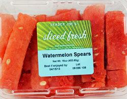 Trader Joe's Sliced Fresh Watermelon Spears