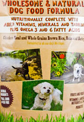 Trader Joe's Wholesome & Natural Dog Food Formula