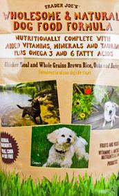 Trader Joe's Wholesome & Natural Dog Food Formula
