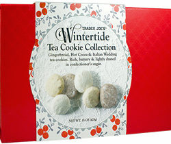 Trader Joe's Wintertide Tea Cookie Collection
