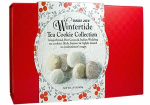Trader Joe's Wintertide Tea Cookie Collection
