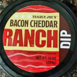 Trader Joe's Bacon Cheddar Ranch Dip