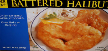 Trader Joe's Battered Halibut