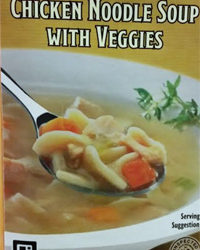 Trader Joe's Chicken Noodle Soup with Veggies