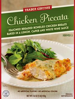Trader Joe's Chicken Piccata