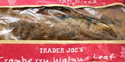 Trader Joe's Cranberry Walnut Bread Loaf