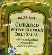 Trader Joe's Curried White Chicken Deli Salad