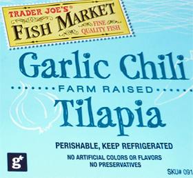 Trader Joe's Garlic Chili Talapia