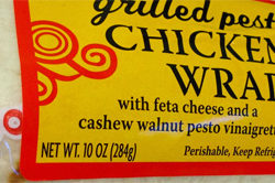 Trader Joe's Grilled Pesto Chicken Wrap